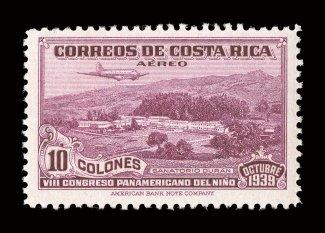 estampillas de Costa Rica
