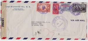 cuban postal censor