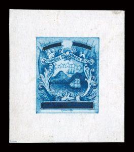 Stamp test: artist design