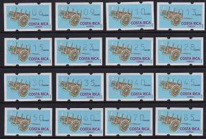 Postage stamp machine, Costa Rica ATM