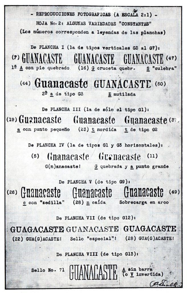 guanacaste overprint