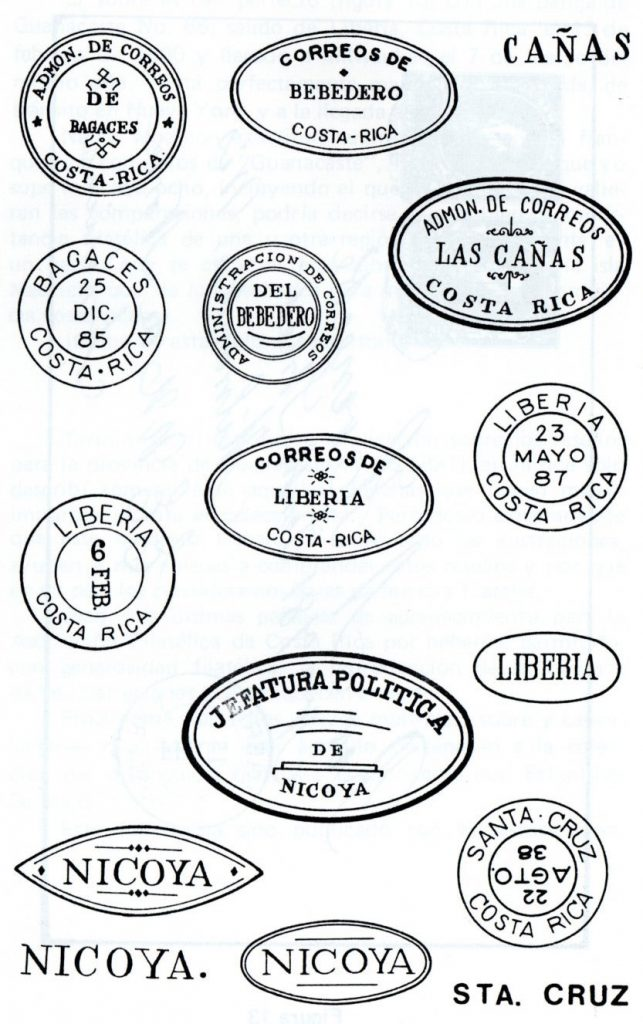 guanacaste overprints