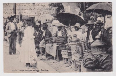 Costa Rica Postcard From Estrada to Hong Kong 1910