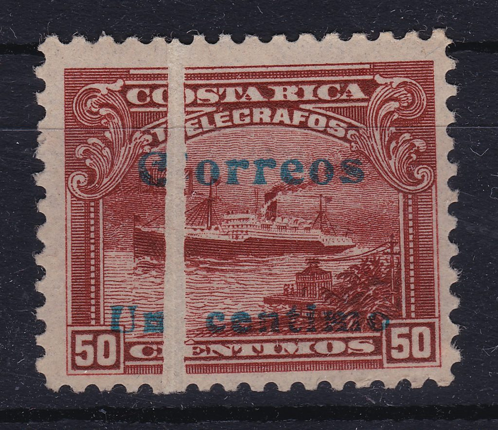 Stamp With Folded Paper