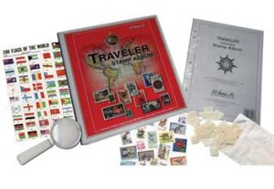 philatelic or stamp collecting supplies