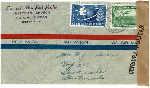 cover with a military censor
